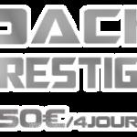 Location Pack Prestige 150€ / 4jours